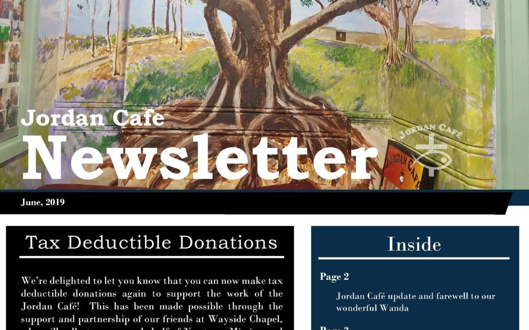 June 2019 Newsletter and Tax Deductibility!